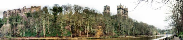Durham Riverside Panorama Royalty Free Stock Photo