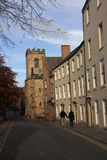 Durham Side Streets Royalty Free Stock Photography