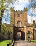 Durham slott Royaltyfri Fotografi