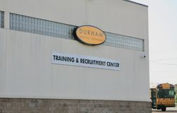 Durham Training and Recruitment Center Stock Photography
