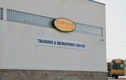 Durham utbildning och rekryteringmitt Arkivbild