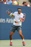 Duri de Rafael Nadal del campeón del Grand Slam de doce veces Fotografía de archivo
