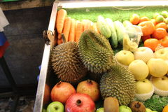 durian απομονωμένη καρπός φωτογραφία τροπική στοκ φωτογραφία με δικαίωμα ελεύθερης χρήσης