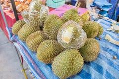 Durian για την πώληση Στοκ Εικόνα