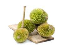 durian που απομονώνεται Στοκ εικόνα με δικαίωμα ελεύθερης χρήσης