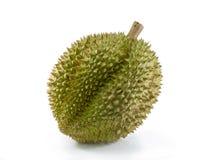 Durian на белой предпосылке Стоковые Изображения RF