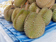 Durian Royalty-vrije Stock Foto