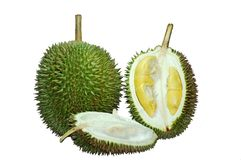 Durian. Spiky fruit Stock Image