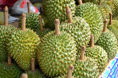 Durian as the king of fruits Stock Images