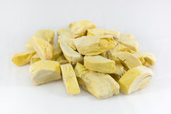 Durian asciutto della gelata Fotografia Stock