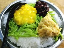 Durian cendol Obrazy Royalty Free