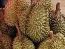 Durian, che ? un in molti numeri da vendere fotografie stock