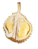 Durian d'isolement Images stock