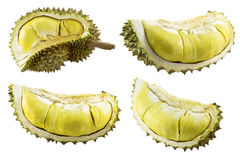 Durian d'isolement photographie stock