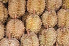 Durian in de markt Royalty-vrije Stock Afbeelding