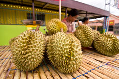 Durian. S in thailand are very delicious Royalty Free Stock Image
