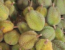 Durian fresco sin pelar Fotografía de archivo libre de regalías