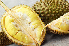 Durian fruit ripe for eaten Stock Photo