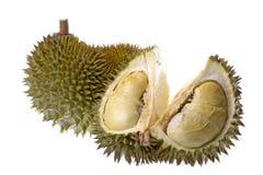 Durian getrennt stockbilder