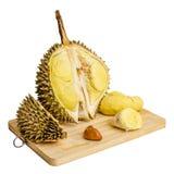 Durian. Gigantyczna Tropikalna owoc. Fotografia Stock