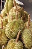 Durian i marknaden Fotografering för Bildbyråer