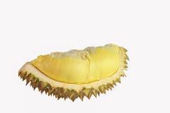 Durian isolado no fundo branco Fotografia de Stock