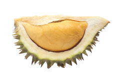 Durian. Isolated on white back ground Royalty Free Stock Photos