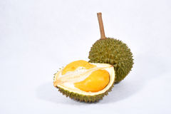 Durian isolated. Durian isolated on white background Stock Photo