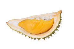 Durian isolated. Durian isolated on white background Stock Photography