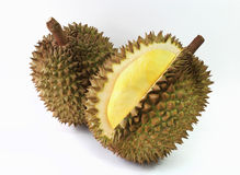 Durian isolated on white background Stock Image
