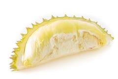Durian isolato su priorità bassa bianca Fotografia Stock