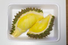 Durian ist König der Frucht in Thailand Stockbilder