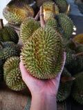 Durian-Königin von Früchte Asiaâ€-‹Thailandâ€-‹ stockfoto