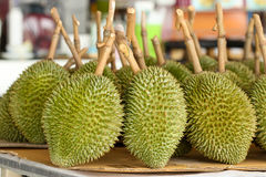 Durian, King of Fruit Stock Photography