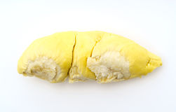 Durian King of fruits  on white background . Royalty Free Stock Photos