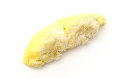 Durian King of fruits  on white background . Royalty Free Stock Photography