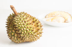 Durian, king of tropical fruit from southeast Asia. Royalty Free Stock Image