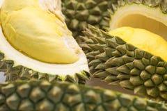 Durian, Koning van vruchten stock afbeeldingen