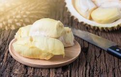 Durian, Koning van vruchten stock afbeelding