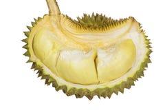 Durian konung av isolerade/Durian frukter, konung av frukter på den vita bakgrund/durianen, konung av frukter med den snabba bana Royaltyfri Foto