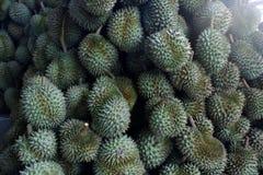 Durian, konung av tropiska frukter i Thailand och South East Asia royaltyfri fotografi