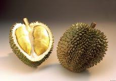 Durian konungfrukt av Malaysia Royaltyfri Fotografi