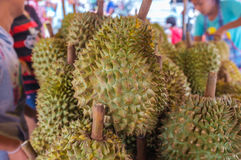Durian Market Stock Images
