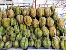 Durian in the market Royalty Free Stock Photos