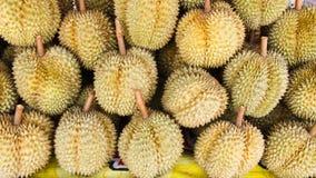 Durian am Markt Lizenzfreie Stockfotos