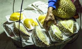 Durian na plaży zdjęcia stock