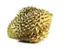 Durian nel fondo bianco Immagine Stock Libera da Diritti