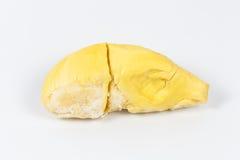 Durian no fundo branco Foto de Stock