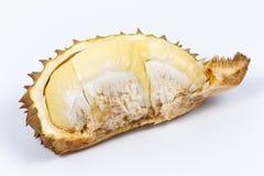 Durian no fundo branco Imagens de Stock Royalty Free