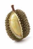 Durian no fundo branco Imagem de Stock